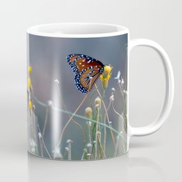 Two Monarch Butterflies Coffee Mug
