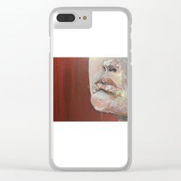 Detail of Lip Clear iPhone Case