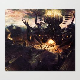 GODDESS OF HEARTH Canvas Print
