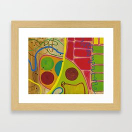 Brooklyn Summer #2 Framed Art Print