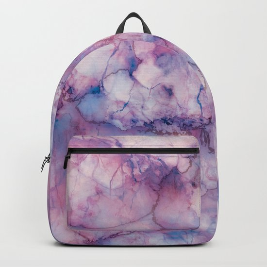 Texture Marble effect Backpack
