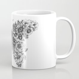 Butterfly in Bloom Coffee Mug