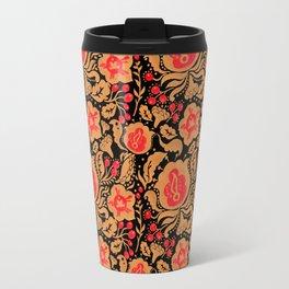 Khokhloma Kulture Pattern Travel Mug
