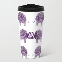 Romance And Elephants Travel Mug