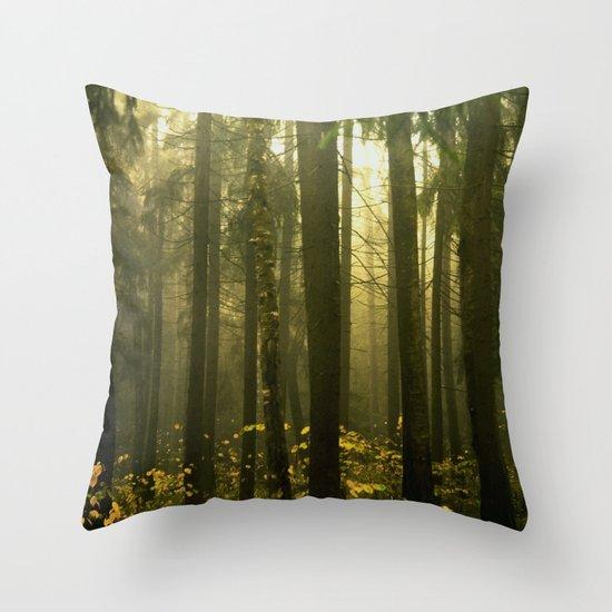Forest#5 Throw Pillow