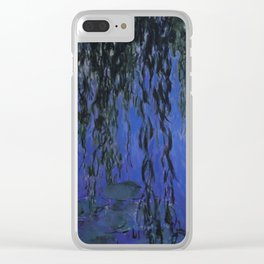"""Claude Monet """"Water Lilies and Weeping Willow Branches"""", 1919 Clear iPhone Case"""