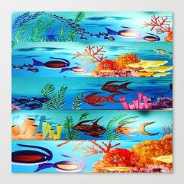 Beautiful Sea Life Canvas Print