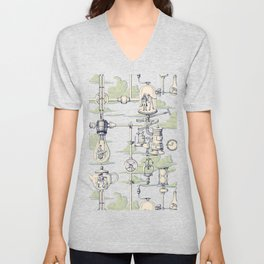 Apnea City Unisex V-Neck