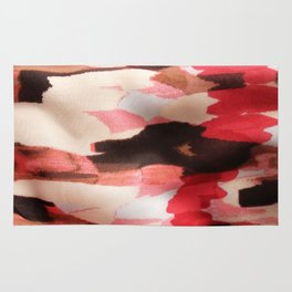 Pink Strokes Rug