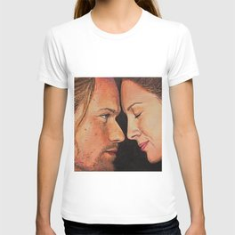 Mo nighean donn (Outlander) Original work of art T-shirt