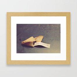 Sweet fortune teller Framed Art Print