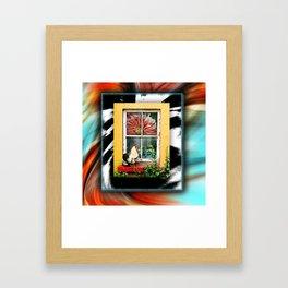Morning Alarm Framed Art Print