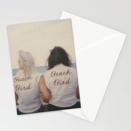 Beach Birds - Instant film photograph taken in the Outer Banks Stationery Cards