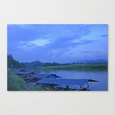 Me Khong River Canvas Print