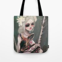 wedding Tote Bags featuring The day before the wedding by Ludovic Jacqz