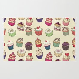 Margery's Lil Cupcake Shop Rug