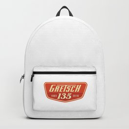 c-Gretsch Drums 135th Anniversary- Logo - Musical Instruments-Music-Rock-Blues-Jazz Backpack