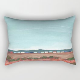West Texas Train Rectangular Pillow