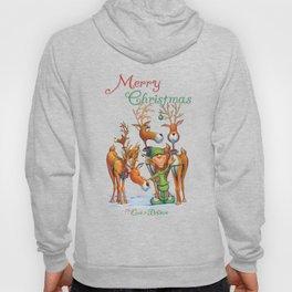 Elf Karl and the Reindeer Hoody