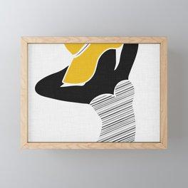 Summer Portrait Framed Mini Art Print