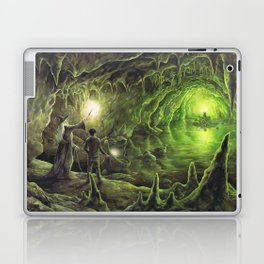 Harry and Dumbledore in the Horcrux Cave Laptop & iPad Skin