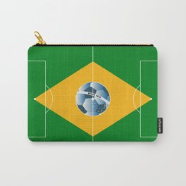 Brazil football field Carry-All Pouch