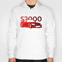 honda Hoodies featuring Honda S2000 - classic red - by Vehicle