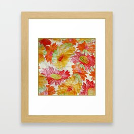Spring wrapper Framed Art Print