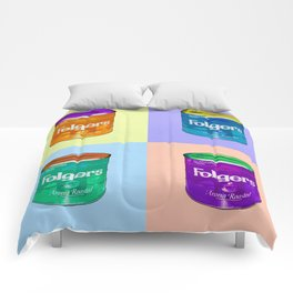 In Loving Memory of Donny Who Loved Bowling set of 4 pop art Comforters