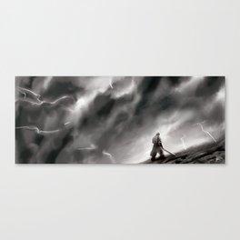 Shattered Plains Canvas Print