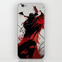 spawn iPhone & iPod Skins featuring Spawn by Scofield Designs