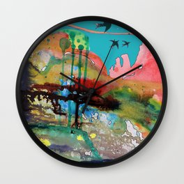 adventure of a lifetime Wall Clock