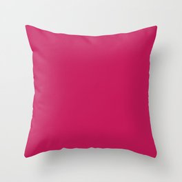 Bright Rose Throw Pillow