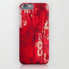 Numeric Values: Slash the Budget iPhone Case