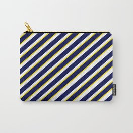 TEAM COLORS 1…Navy , yellow , white Carry-All Pouch