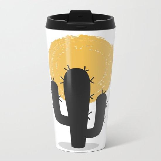 CACTUS 4 Metal Travel Mug