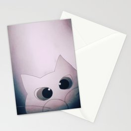 Happy New Year cat 91 Stationery Cards