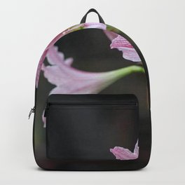 Pink Twin Flowers Backpack