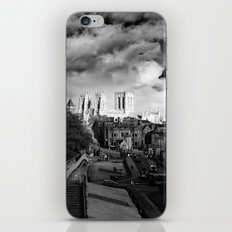 York Minster and walls in the sun iPhone & iPod Skin