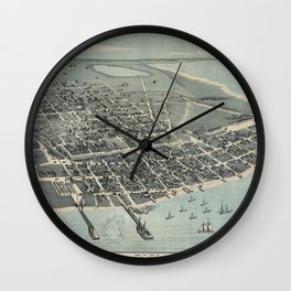 Corpus Christi 1887 Wall Clock