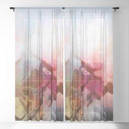 In April Sheer Curtain