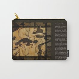 Cat of Nine Tales Carry-All Pouch