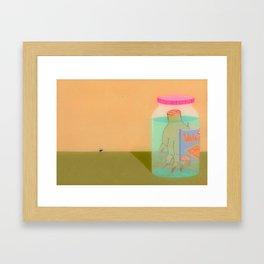 Still Life with Fly Framed Art Print