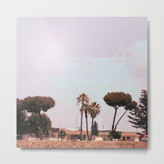 Across the Red Desert Metal Print