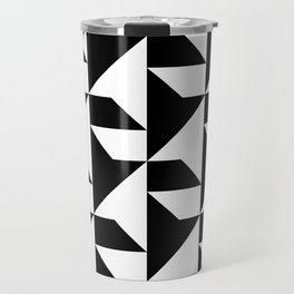 BW Tessellation 2 10 Travel Mug