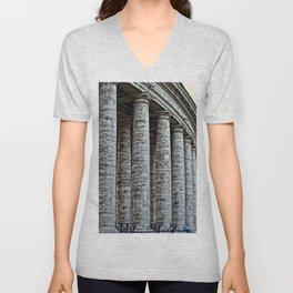 Vatican City Marble Unisex V-Neck