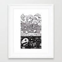 velvet underground Framed Art Prints featuring Velvet Underground by Khaedin