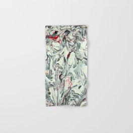 PURO PLATA CON ROJO (Pure Silver with Red) Hand & Bath Towel