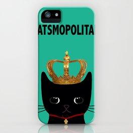 CATSMOPOLITAN iPhone Case