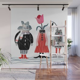 Cold spring Wall Mural
